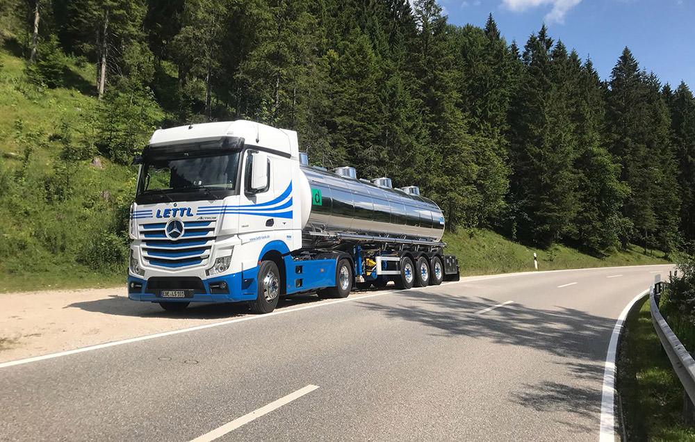 Die Tank-Transporte von Lettl